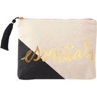 Essentials Colorblock Pouch