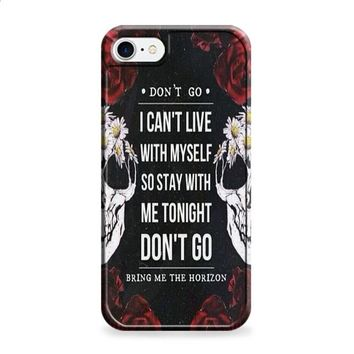 bring me the horizon dont go iPhone 6 Plus | iPhone 6S Plus case