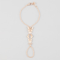 Full Tilt Leaf Hand Harness Gold One Size For Women 25137962101