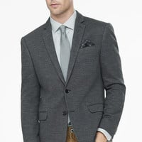 Dark Gray Knit Blazer from EXPRESS
