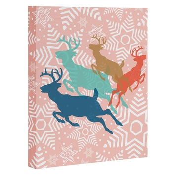 Heather Dutton Dashing Through The Snow Serene Art Canvas