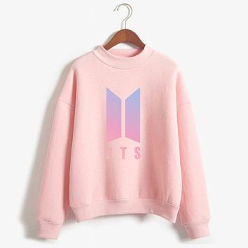 LUCKYFRIDAYF BTS Love Yourself k pop Women Hoodies Sweatshirts Bangtan outwear Hip-Hop Hoodies New song DNA K-pop Clothes