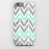 sparkle blue navajo iPhone & iPod Case by Hannah