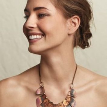 Sibilia Benelux Necklace in Terra Cotta Size: One Size Necklaces