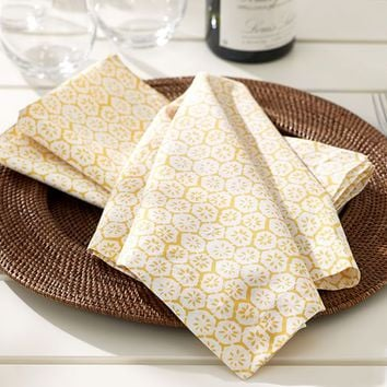 CITRON NAPKIN, SET OF 4