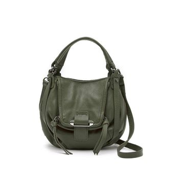 Kooba Women's Mini Jonnie Mineral 12 Leather Crossbody Bag