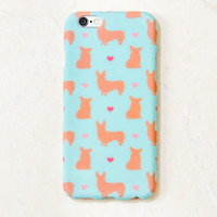Multicolor Corgi Dog, Puppy, Doggie iPhone 6S/ 6 case