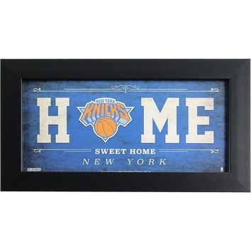 ONETOW New York Knicks 6x12 Home Sweet Home Sign