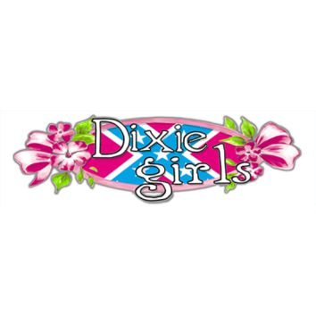 Dixie Girls Bumper Sticker by Dixie Outfitters®