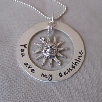 You Are My Sunshine Loop and Sun Charm at Sweet Blossom Gifts