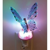Amazon.com: Butterfly Optic Fiber Color Changing Night Light Show - pink in: Home Improvement