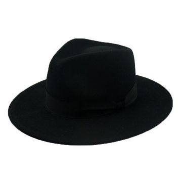 d19def03299c8 Fedora Hats For Men   Women Winter Wool Felt Hat