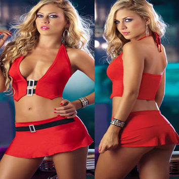On Sale Cute Hot Deal Club Sexy Uniform Exotic Lingerie [10236790412]