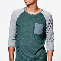 On The Byas Mitchell Raglan T-Shirt at PacSun.com