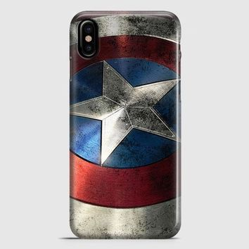 Captain America iPhone X Case