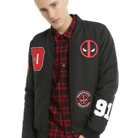 Marvel Deadpool Bomber Jacket