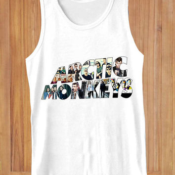 arctic monkeys  design clothing lives for Tank Top Mens and Tank Top Girls