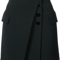 Alexander Wang Mini Skirt With Multi Button Detail - Farfetch