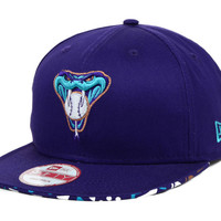 Arizona Diamondbacks MLB Cross Colors Snapback Cap