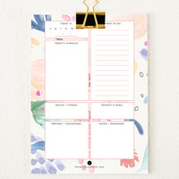 Everyday Planner Sheets | Fresh Florals