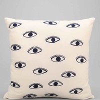Magical Thinking Embroidered Eye Pillow- Black & White One