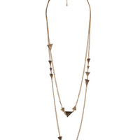 Etched Arrowhead Chain <br>Necklace