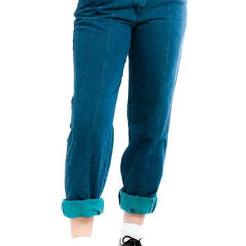 Vintage 90's Teal With It, Buddy Perfect Mom Jeans - L