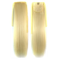 Long Straight Hair Lace-up Wig 613#