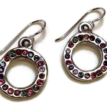 Patricia Locke Jewelry - Ringlet Earrings in Passion