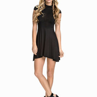 High Neck Skater Dress, Club L Essentials