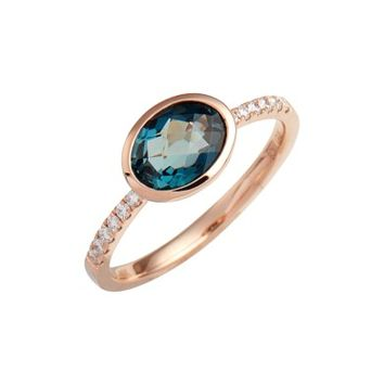 Bony Levy Iris Semiprecious Stone & Diamond Ring (Nordstrom Exclusive) | Nordstrom