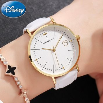 Disney Clock Authentic Mickey Mouse Women's Quality Watch