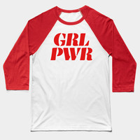 Girl Power GRL PWR (Red) by creativeangel