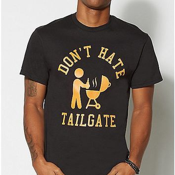 Don't Hate Tailgate T Shirt - Spencer's