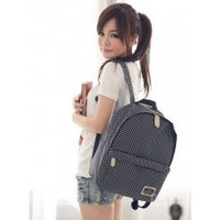Wholesale Little nylon backpack TW-1713BK - Lovely Fashion