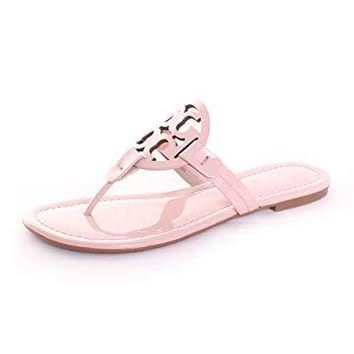 Tory Burch Miller Thong Sandal in Sea Shell Pink