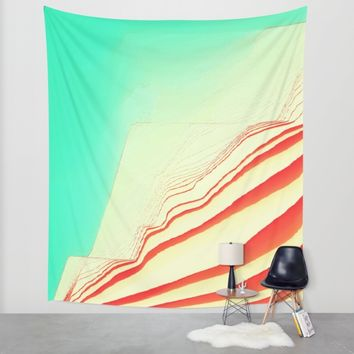 PlayTime glitch Wall Tapestry by Ducky B