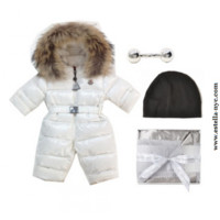 Moncler Snowsuit Baby Gift Set