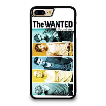 THE WANTED iPhone 4/4S 5/5S/SE 5C 6/6S 7 8 Plus X Case