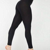 Cotton Spandex JerseyHigh-Waist Leggings