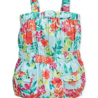 GUESS Baby Girls' Floral Romper