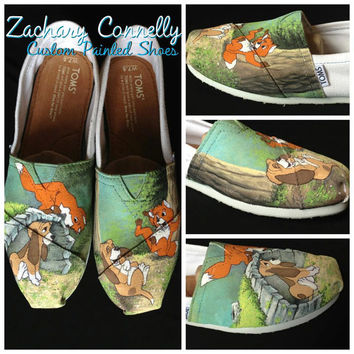 Fox and the Hound Disney Toms shoes