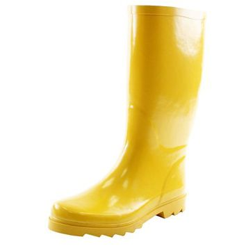 West Blvd Rainboots Rain-Boots, French Rubber, 9