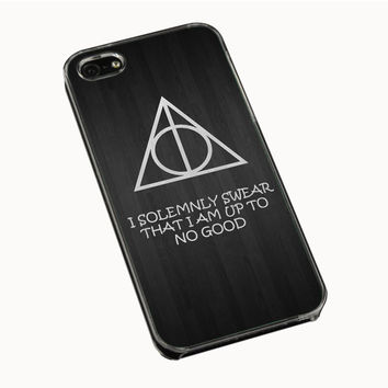I Solemnly Swear That I am Harry Potter iPhone 4(S) 5(S) 5C Cases