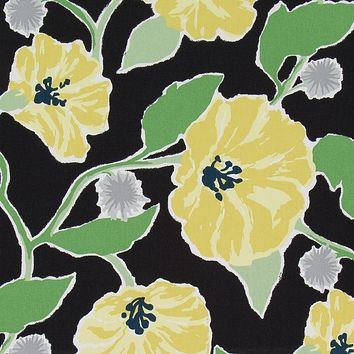 Robert Allen Fabric 260310 Jungle Bloom Nightfall
