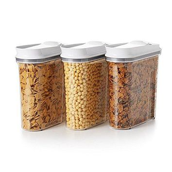 OXO Good Grips 3 Piece Airtight POP Cereal Dispenser Set