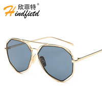 2016 new sunglasses fashion personality sunglasses men women glasses celebrity Retro Sunglasses