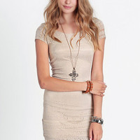 Subdued Sexy Lace Dress - $38.00: ThreadSence, Women's Indie & Bohemian Clothing, Dresses, & Accessories