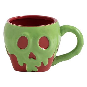 Disney by Vandor Snow White Poison Apple Sculpted Ceramic Mug New with Box