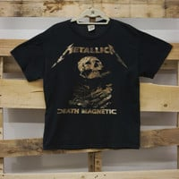 """Metallica Death Magnetic"" Vintage Tee"